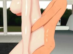 Hentai 3D hot busty milf in action